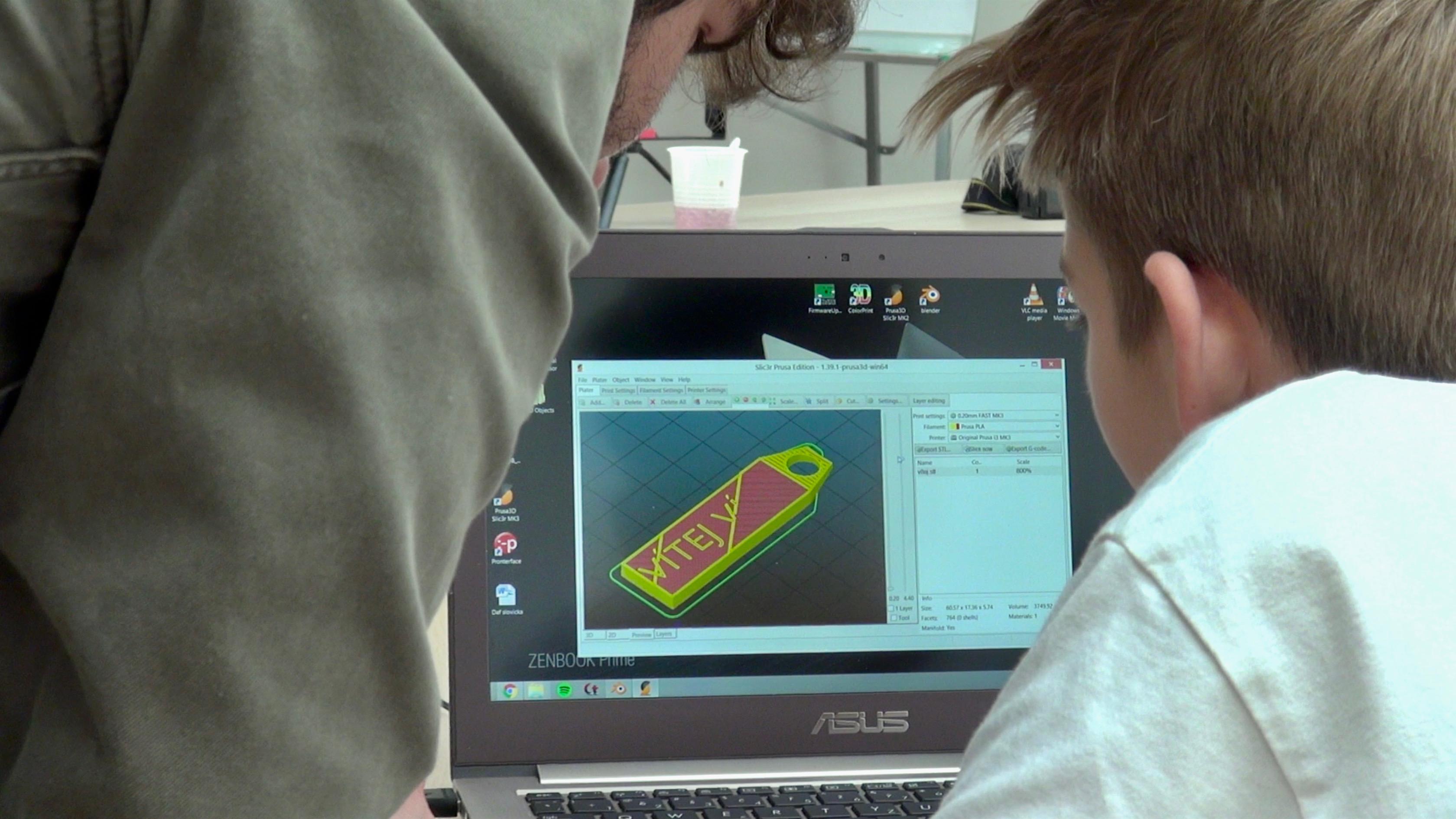 3D tisk model